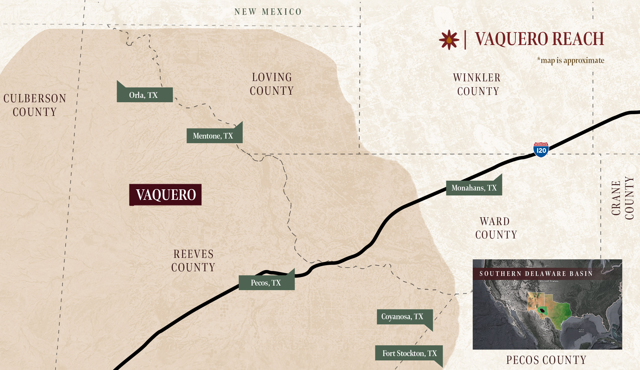 vaquero_midstream_operations_location