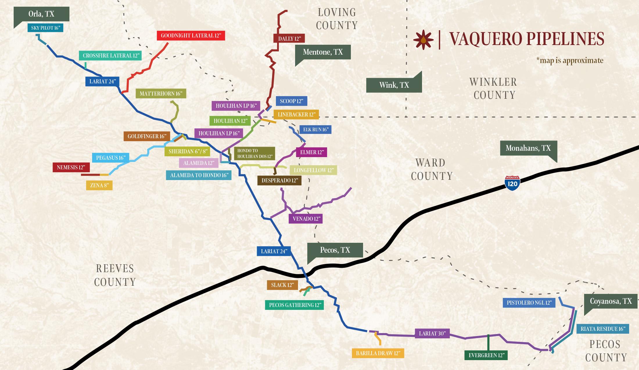 vaquero_midstream_pipelines